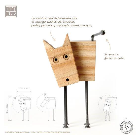 Perro pupi animaderos madera de reforestaci n clavos - Clavos para madera ...