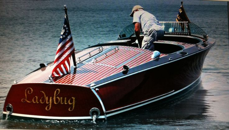 Vintage Wood Boats 10