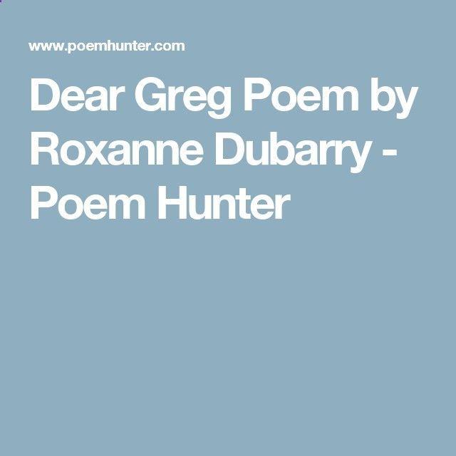 Exercice Du Sport  :     Cher Greg Poem de Roxanne Dubarry – Poem Hunter  - #Exercice https://virtualfitness.be/exercice/exercice-du-sport-cher-greg-poem-de-roxanne-dubarry-poem-hunter/