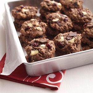 Chocolate Chunk Cherry Cookies- diabetic living
