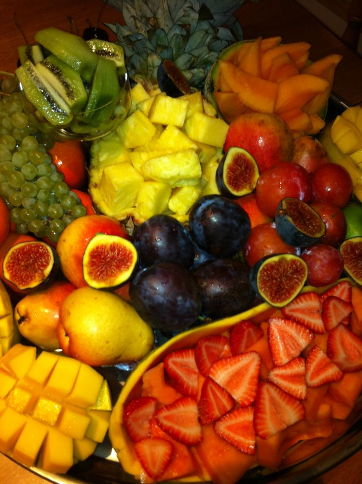 Decorate your fruit plate