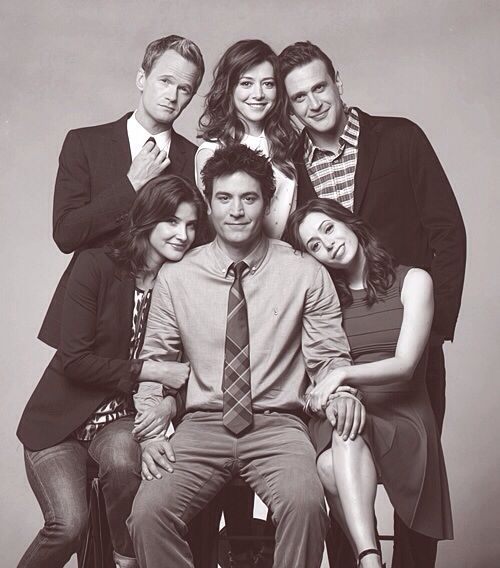 This picture fits crazy good with the finale. How I met your mother #himym. I GOT ROBIN