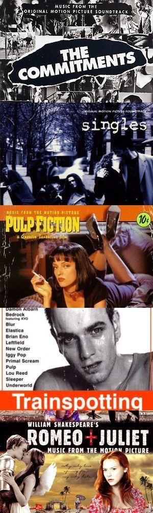 Cinque grandi colonne sonore di film degli anni '90