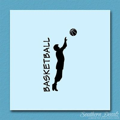 Basketball player ball - vinyl decal sticker - #multiple colors & #sizes - #ebn33,  View more on the LINK: http://www.zeppy.io/product/gb/2/281949079358/