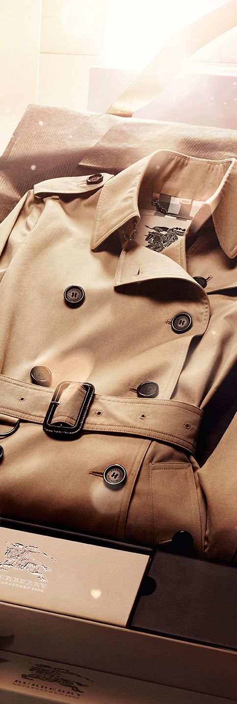 OMG, my dream gift! A Burberry Bespoke trench coat - the ultimate gift for someone special