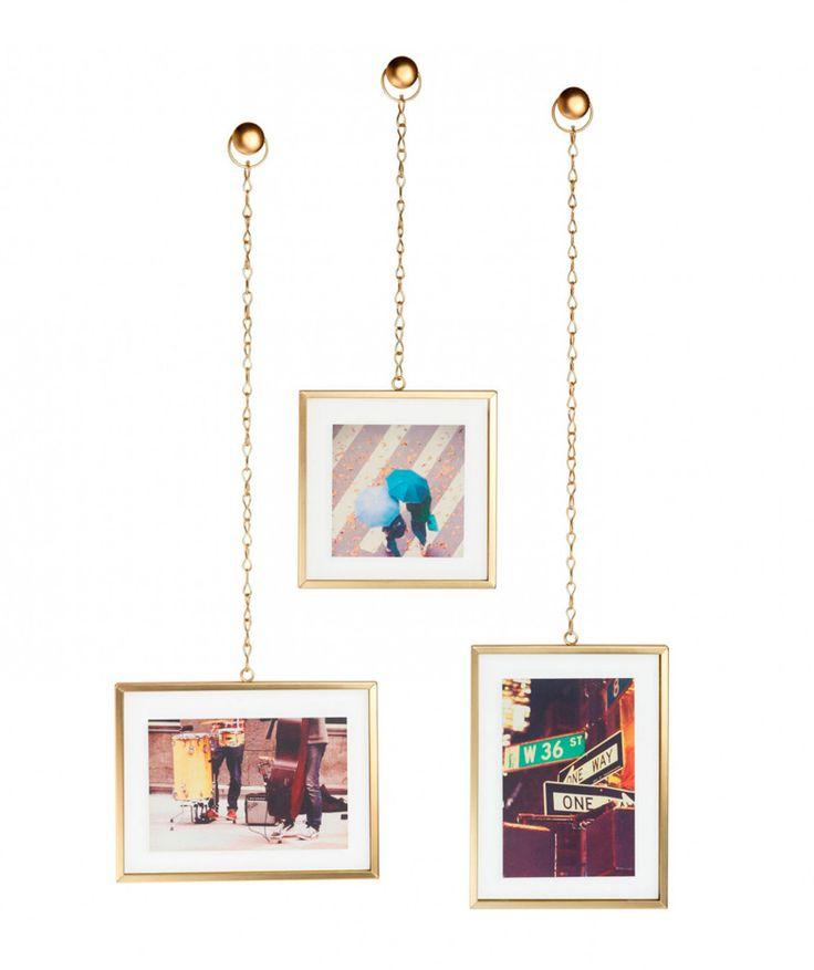 Fotochain - Portaretratos colgante x3. $129.900 COP (Envío gratis). Cómpralo aquí--> https://www.dekosas.com/productos/hogar-decoracion-dekosas-umbra-foto-chain-detalle