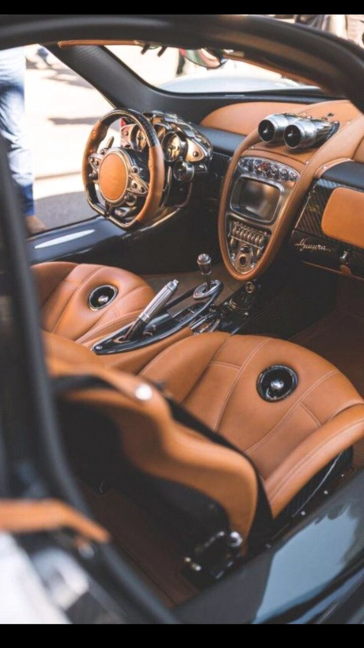 Pagani Huayra.  Fell in love with the interior before even knowing the make or model.