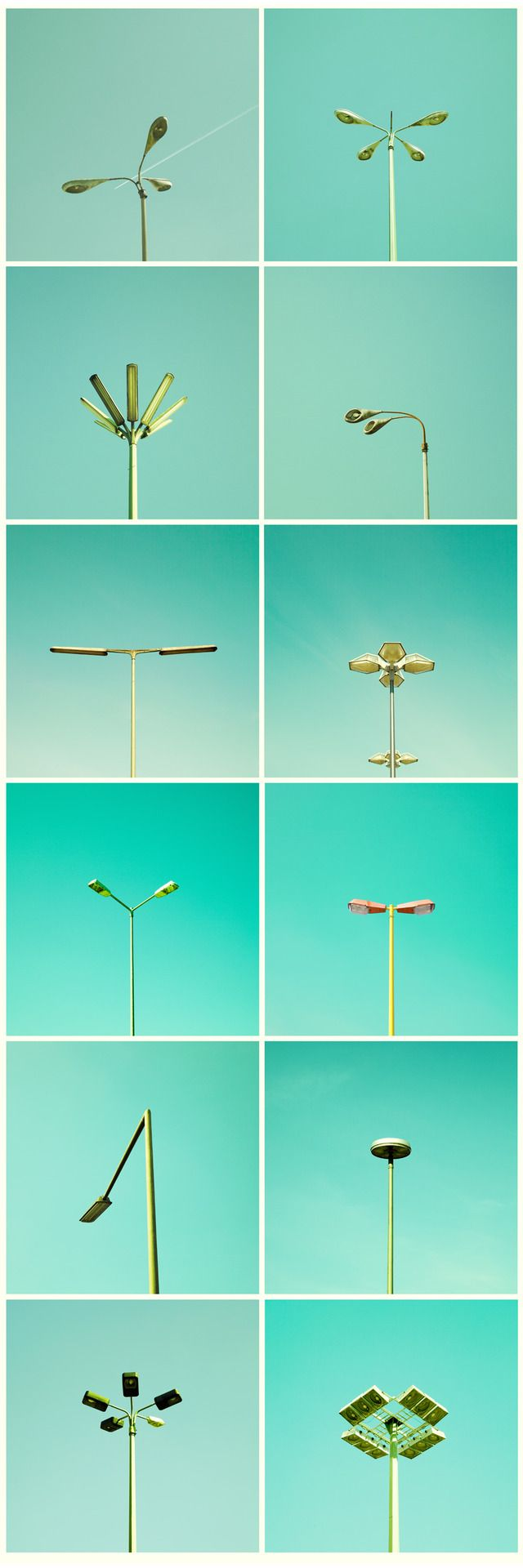 Streetlamp typology from matthiasheiderich