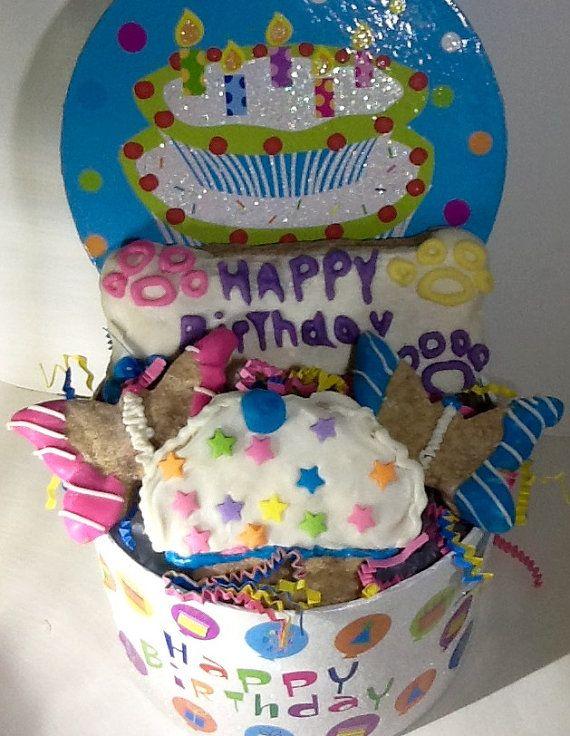 Dog Birthday Basket!
