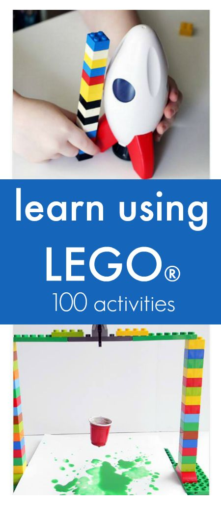 100 lego activities that show you how to teach using lego :: fun lego activities for kids :: learning using lego
