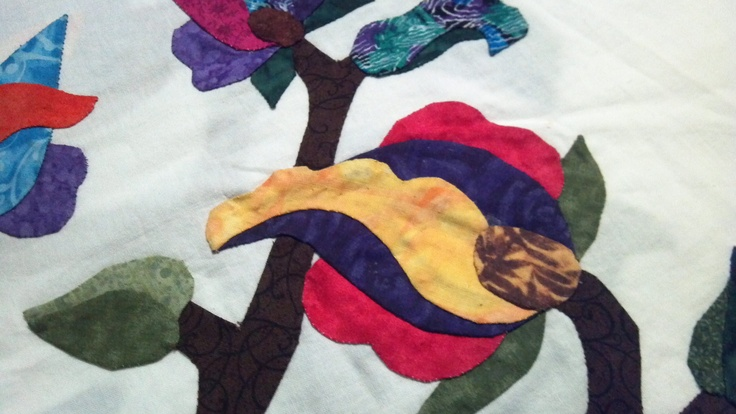 Jacobean tulip by Linda McDaniel