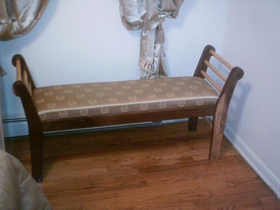 photo 1 of a bed end bench made by Steve