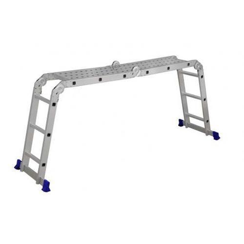Escada Multifuncional 4x3 Com Plataforma - Shoptime.com