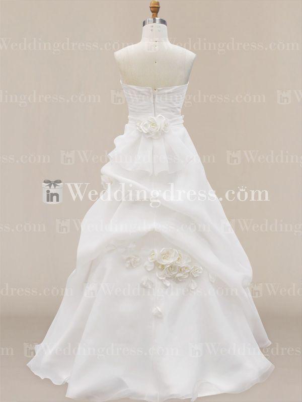 Floral Wedding Dress Skirt