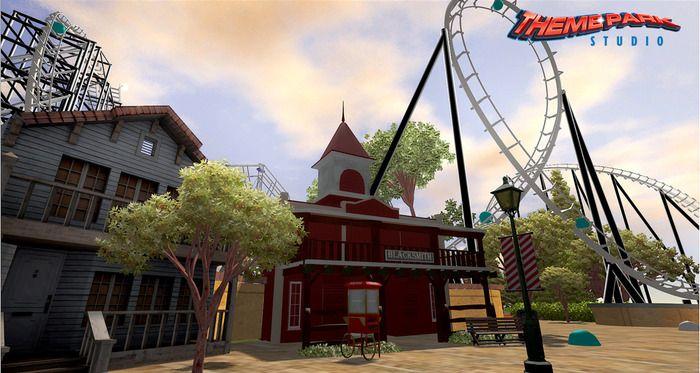 Theme Park Studio Release Date Announced