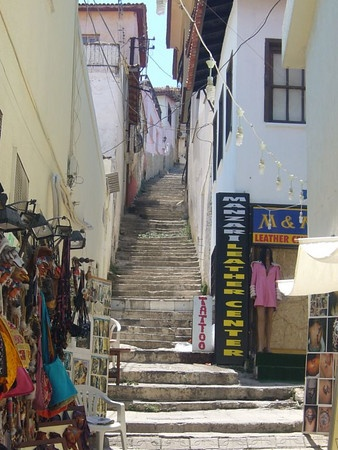 Kusadasi, Turkey  roaming the streets