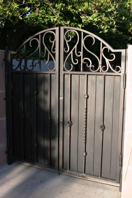 17 Best Images About Custom Wrought Iron Gates On