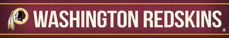 Washington Redskins Street Banner $19.99