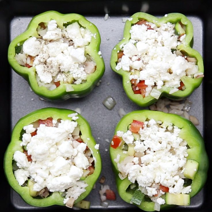 Stuffed Peppers 3 Ways! Whether you prefer classic ground beef, buffalo chicken…