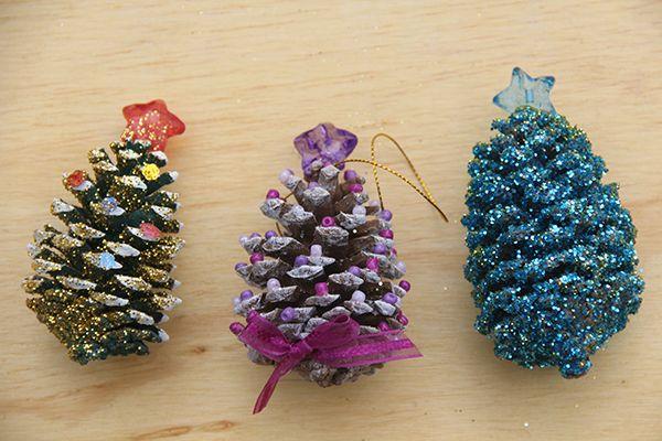 Pi as de pino para decorar en navidad ideas navide as - Pinas de pino para decorar ...
