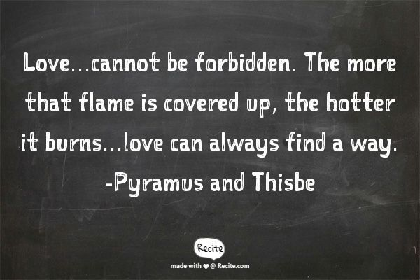 Love Finds A Way Quotes: 25+ Best Ideas About Pyramus And Thisbe On Pinterest
