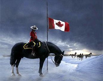 RCMP memorial to the deaths of four mounties in Alberta