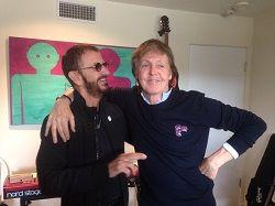 В минувший уикенд бывшие участники Beatles Пол Маккартни и Ринго Старр собрались в студии для записи новой музыки. Об этом заявил сам барабанщик Ринго Старр в соцсетях. «Спасибо за то, что пришёл и прекрасно сыграл на басу. Люблю тебя. Всем мира и любови», – подписал �