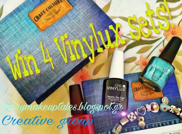 Fairy make-up tales . . . . : Win 4 Craft Culture Vinylux sets!!!