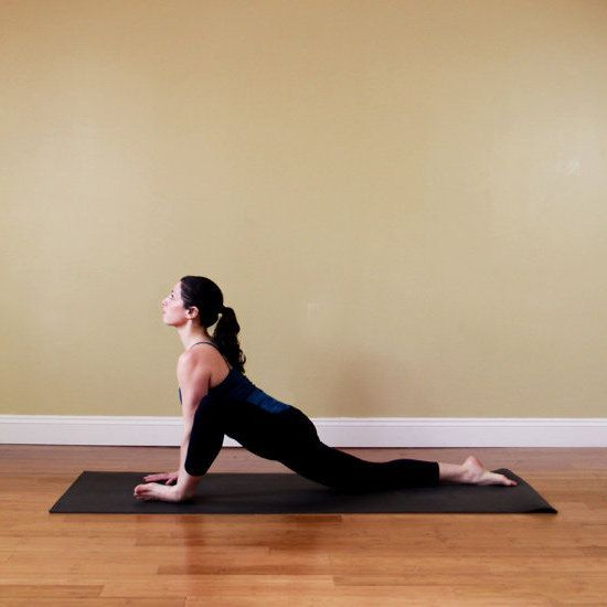 Locust yoga poses a well and the floor for Floor yoga poses