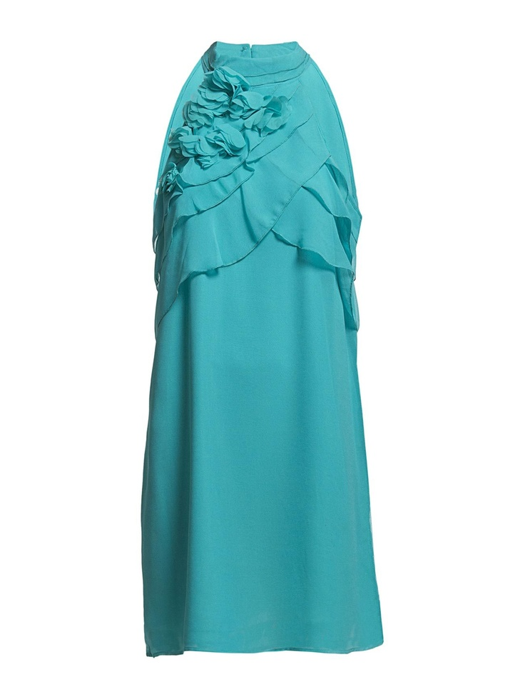 Vero Moda - BREE HALTERNECK SHORT DRESS TN