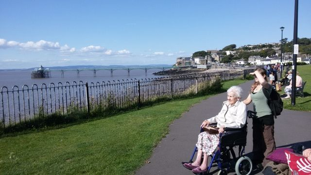A trip out to sunny Clevedon - Riversway Care Home Bristol