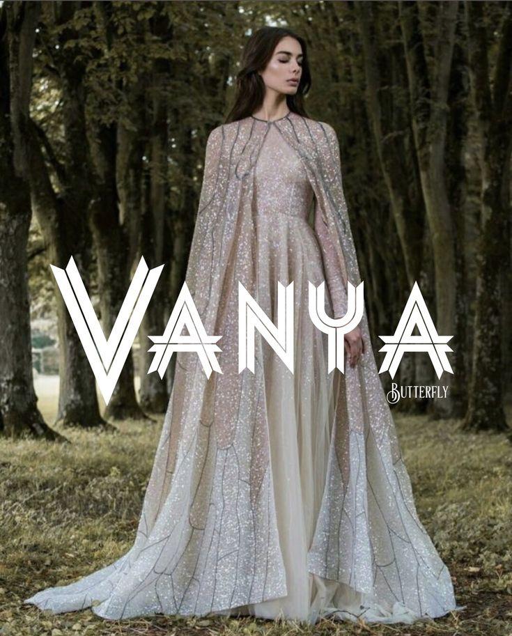 Vanya, meaning: butterfly, Greek name