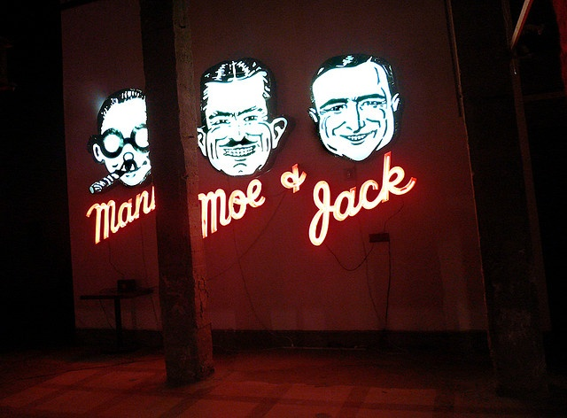 Museum of Neon Art, Pep Boys sign by jericl cat, via Flickr