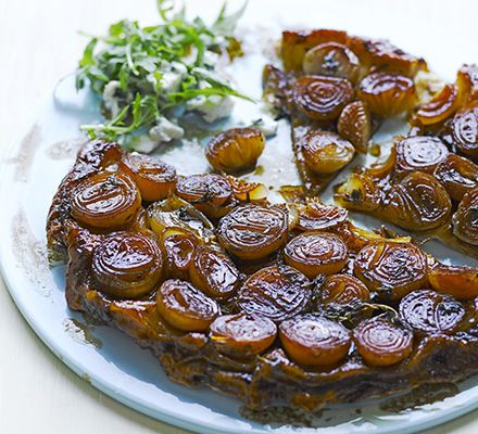 This twist on a classic apple dessert gives often-overlooked shallots star billing and makes a stunning vegetarian main course