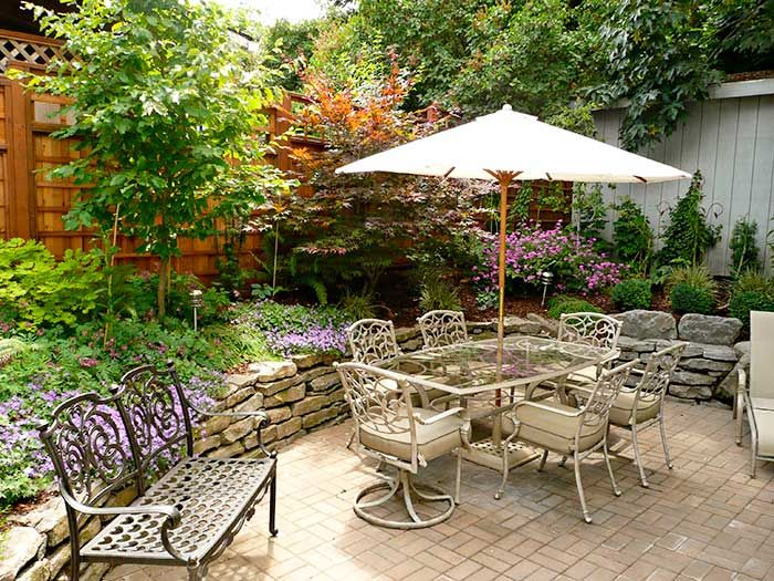 Beautiful Small Patio Gardens Ideas