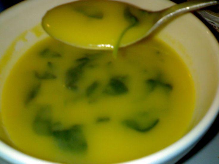 Soupe aux épinards   – Receitas para cozinhar