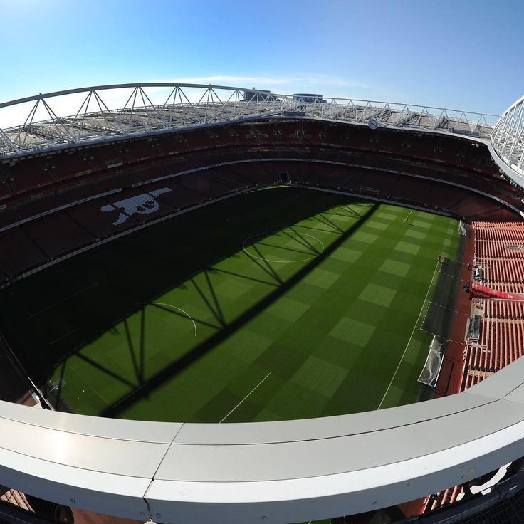 The emirates home of arsenal fc the gunners pinterest for Emirates stadium mural