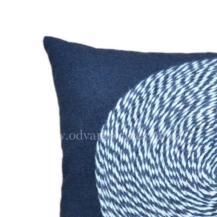 "pillow AUDRY, collection ""CHERCHEZ LA FEMME"". www.odvarkovadesign.cz"