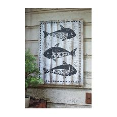 Wooden Fish Wall Art 34 best beach wall art images on pinterest | beach wall art, beach