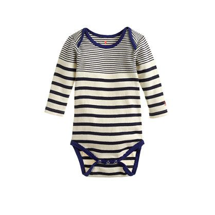 J.Crew Baby one-piece in multistripe