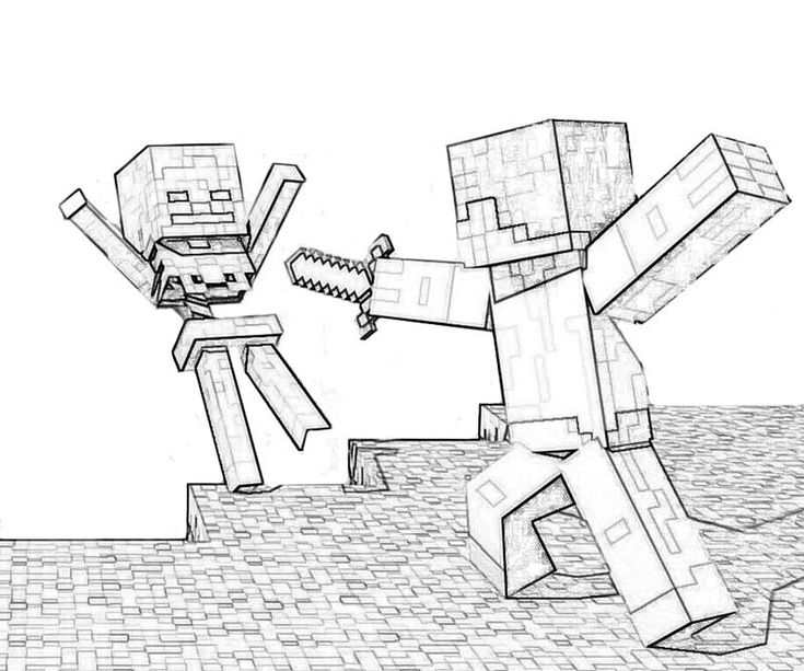 Minecraft Free Coloring Pages Minecraft Coloring Pages Minecraft Drawings Coloring Pages For Kids
