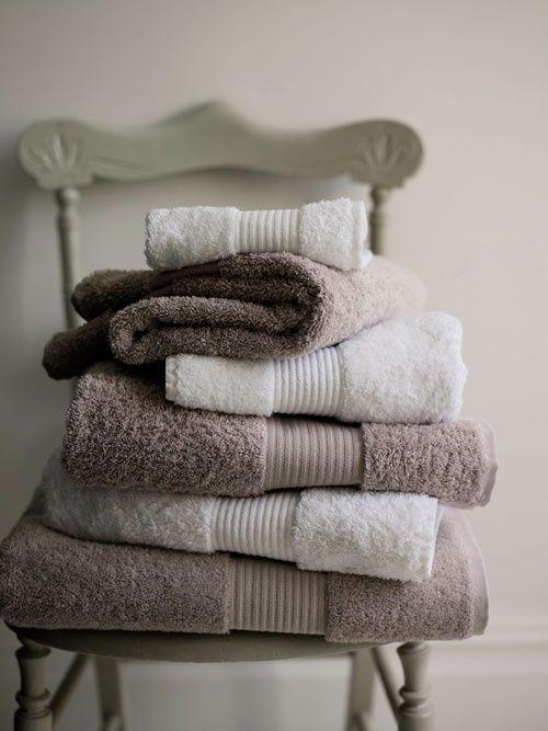 2 passos para ter as toalhas bem fofas