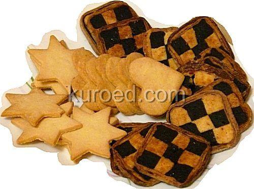 Песочные печенья на майонезе