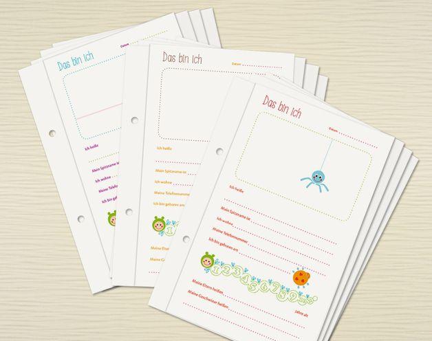 Briefe Für Kindergartenkinder : Die besten bilder zu freundebuch auf pinterest