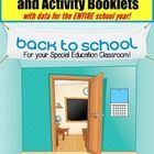 Weekly Calendar Activity Booklet for Special Education and Autism  Learning Calendar skills is of great importance in the Special Education classro...