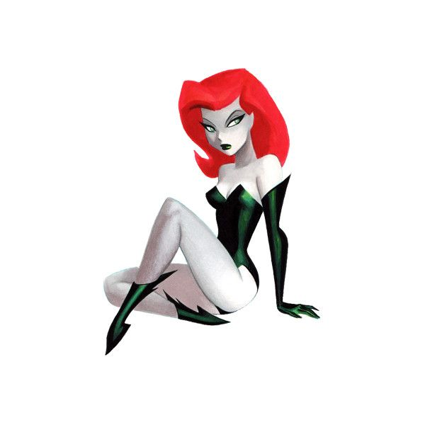 Poison Ivy | Batman Characters - characters from Batman - Batman... ❤ liked on Polyvore