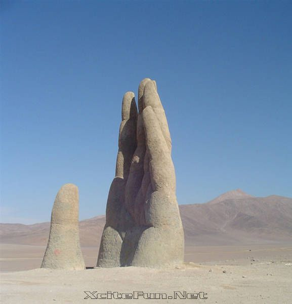 Image detail for -Atacama Desert: Hand of Desert - Chile : Travel Tourism