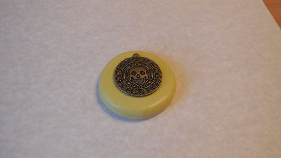 Pirates Of The Caribbean Inspired Aztec Pendant Mold, Silicone mold, craft mold, resin, jewelry, food , clay's mold, flexible, Charms