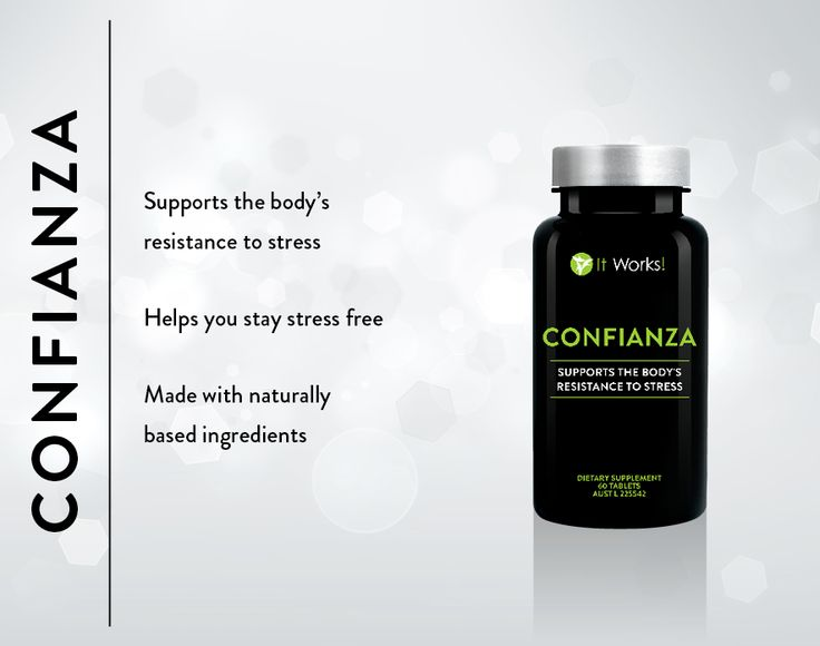Confianza- supports the body's resistance to stress