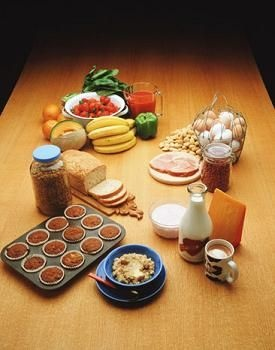 List of high Energy Foods